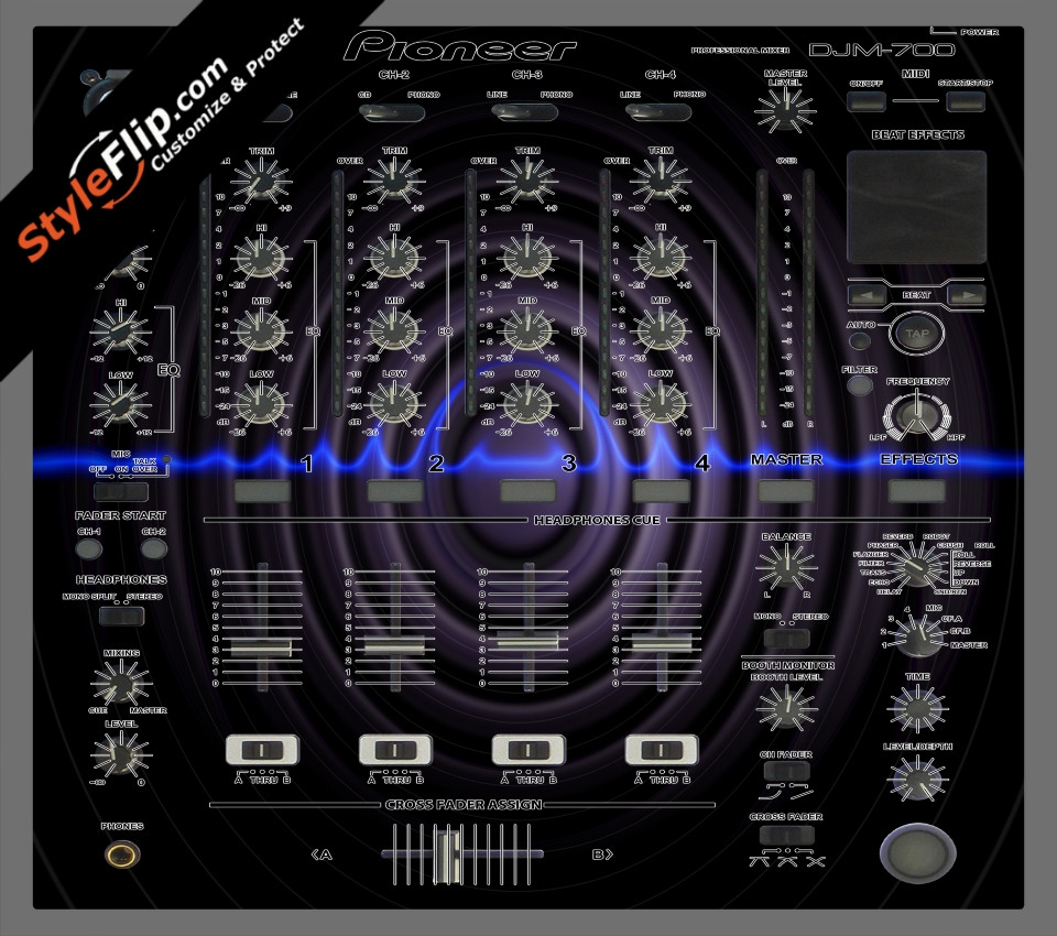 Sub Sonic Pioneer DJM 700