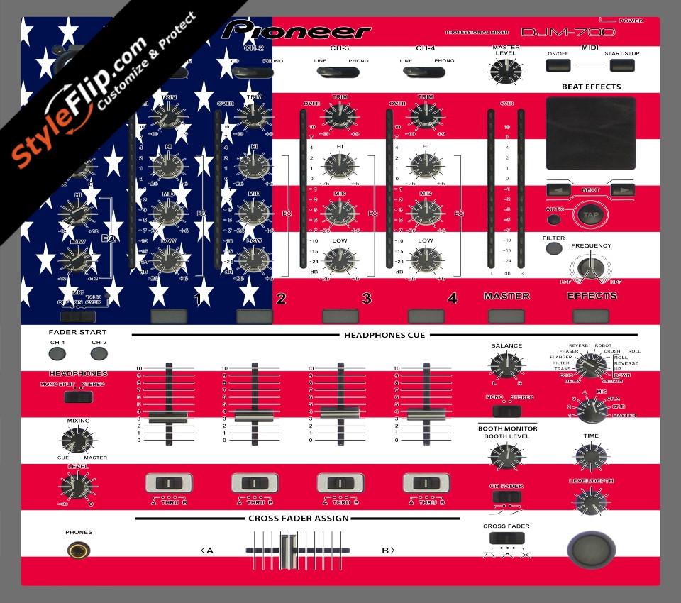 United States Of America Pioneer DJM 700
