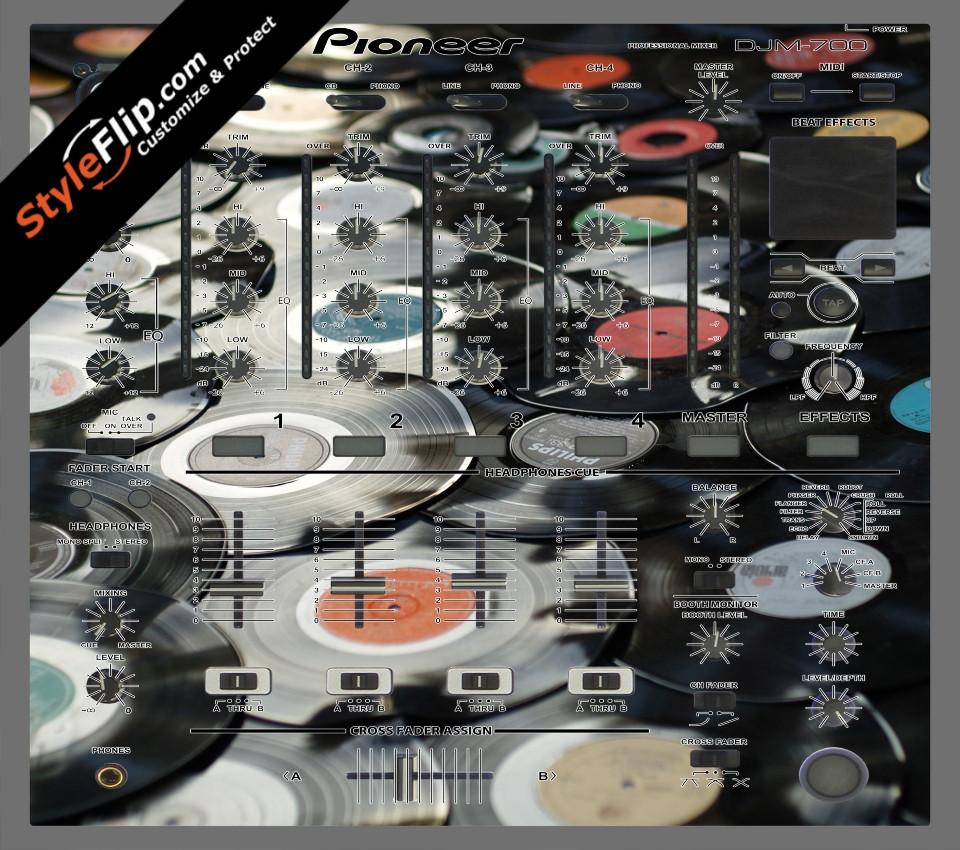 Wax On  Pioneer DJM 700