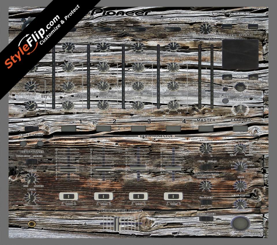 Weathered Wood  Pioneer DJM 700