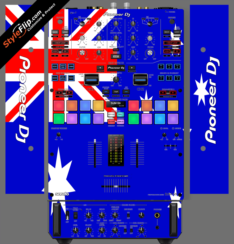 Australian Flag  Pioneer DJM S9