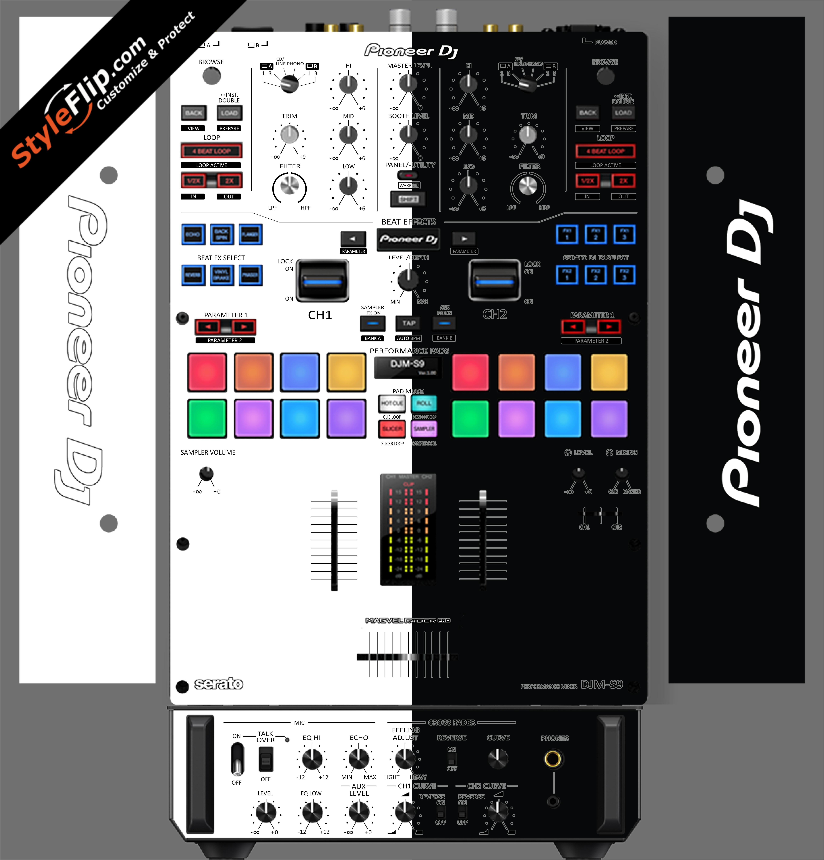 Black & White Pioneer DJM S9