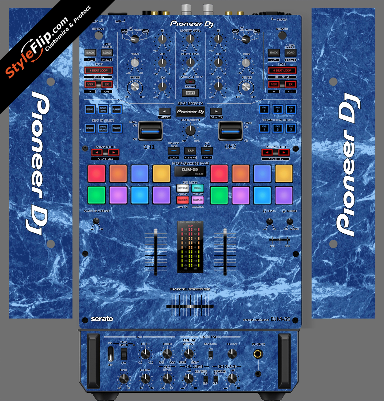 Blue Marble  Pioneer DJM S9