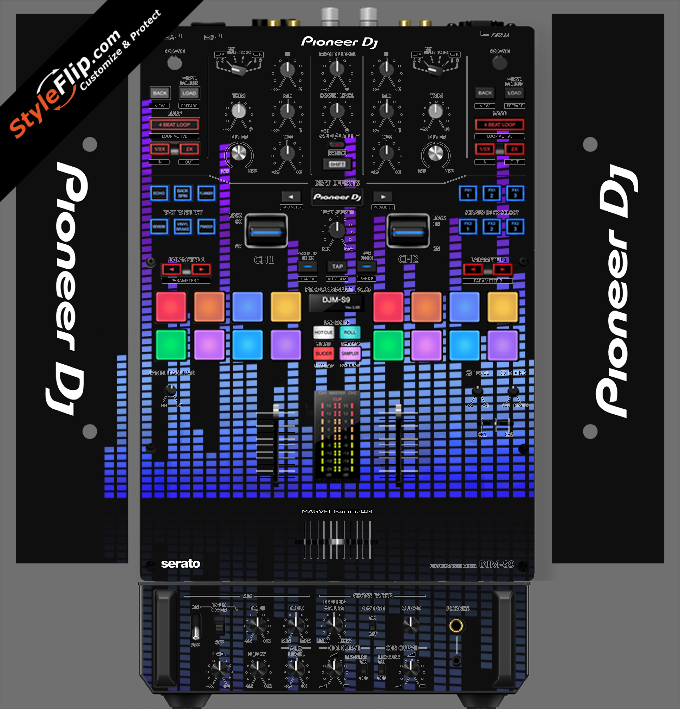 Blue Tones Pioneer DJM S9
