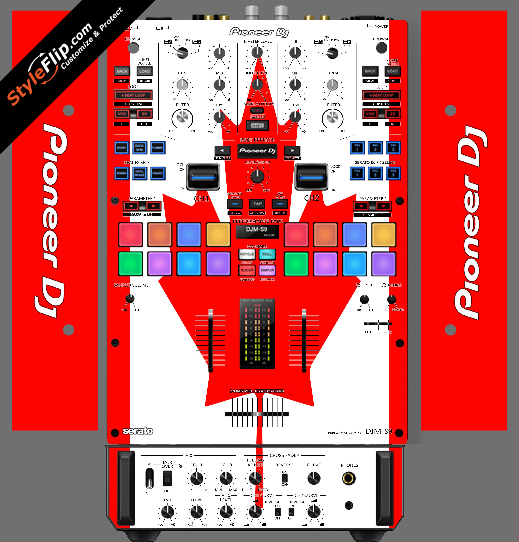 Canadian Flag  Pioneer DJM S9