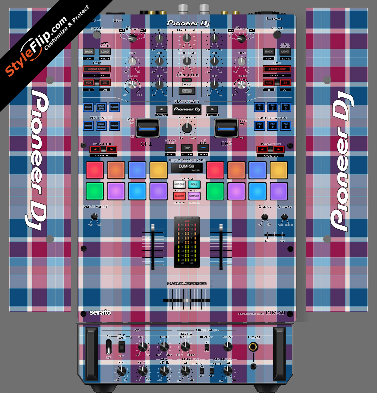 Classic Plaid  Pioneer DJM S9
