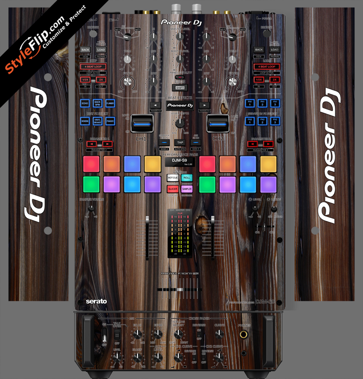 Dark Wood  Pioneer DJM S9
