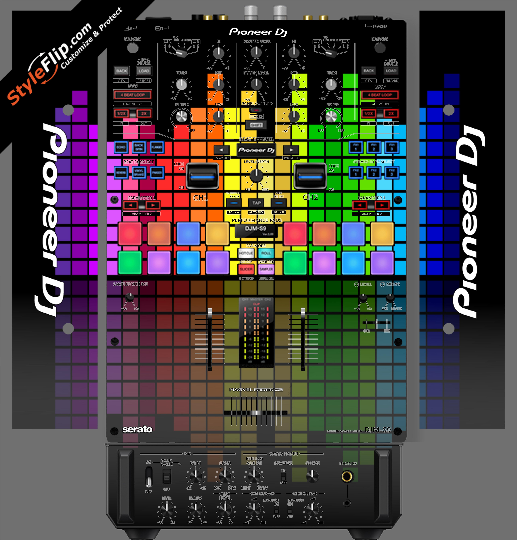 Equalize  Pioneer DJM S9