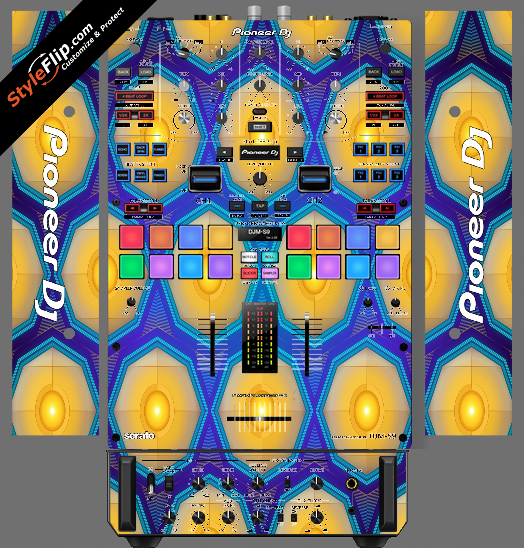 Honeycomb  Pioneer DJM S9
