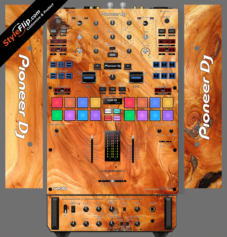 Marbled Wood  Pioneer DJM S9