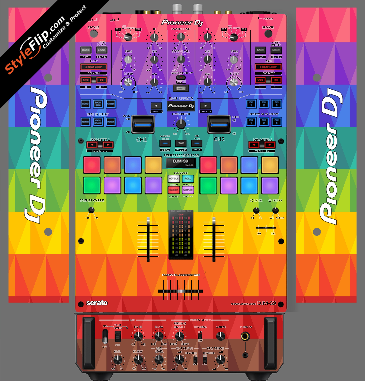 Pyramix Pioneer DJM S9