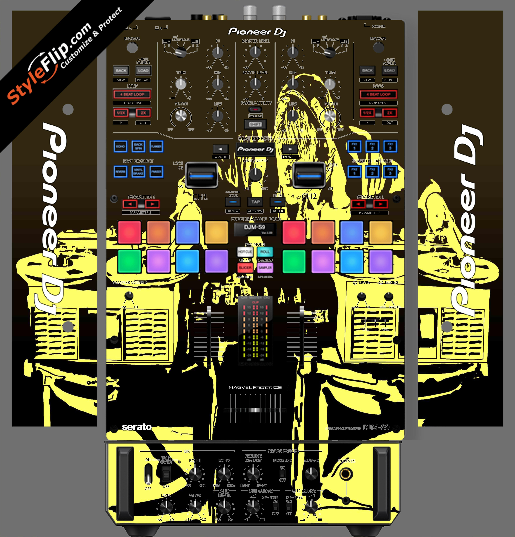 Scratch Master Pioneer DJM S9