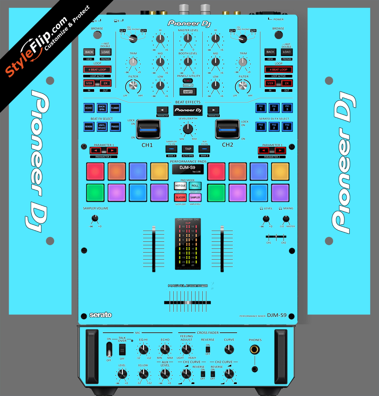 Solid Blue Pioneer DJM S9