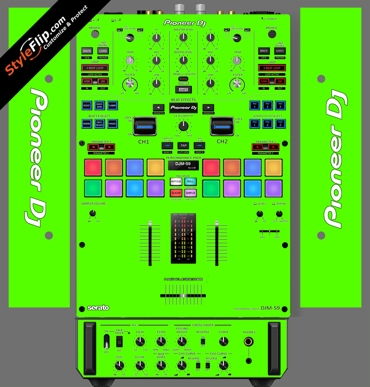 Solid Green Pioneer DJM S9