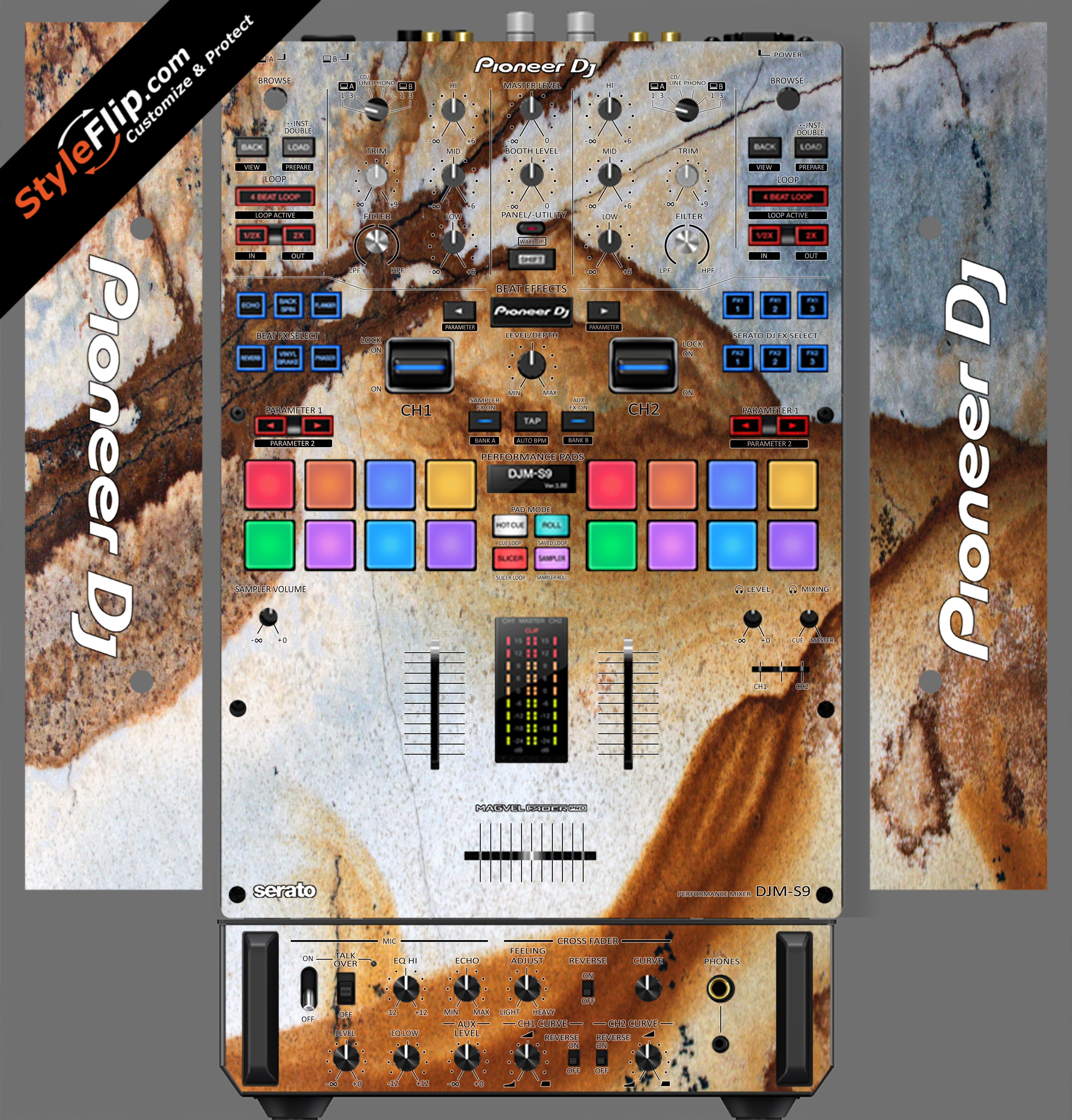 Stained Marble  Pioneer DJM S9