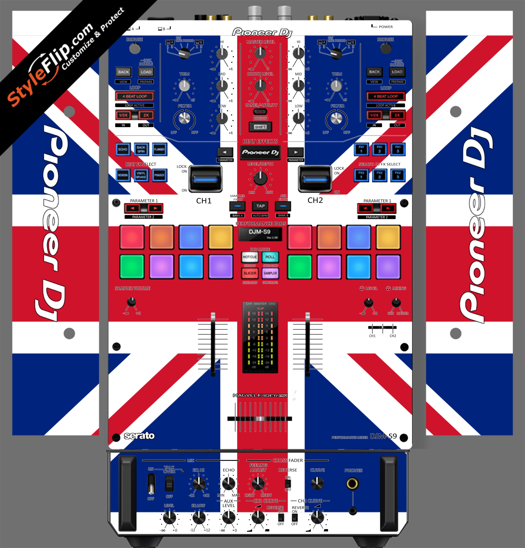 United Kingdom Flag Pioneer DJM S9