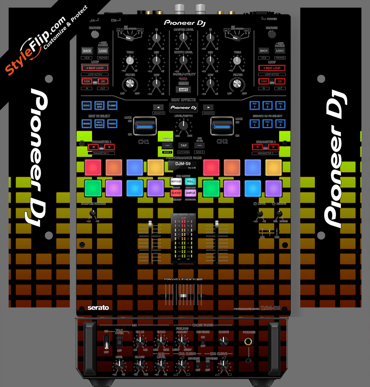 Warm Equalizer Pioneer DJM S9