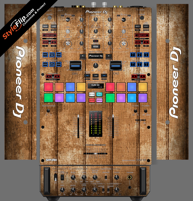 Wood Panels  Pioneer DJM S9
