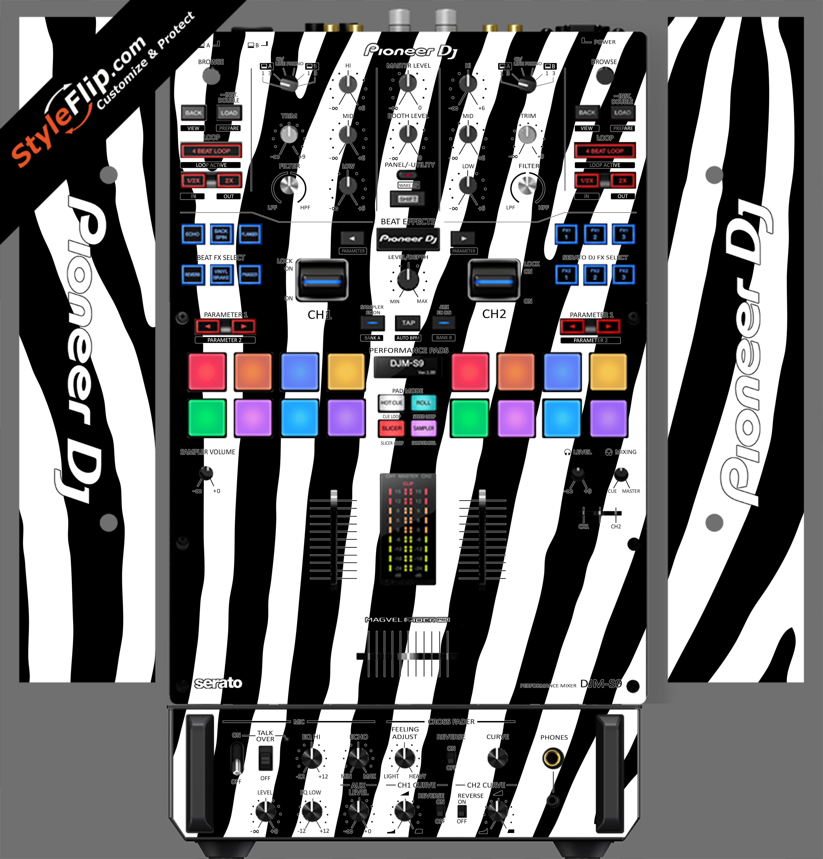 Zebra Print Pioneer DJM S9