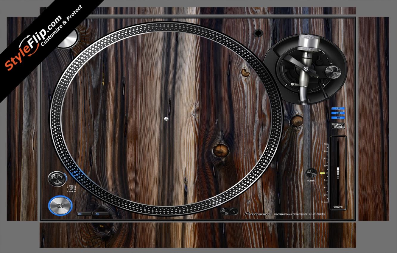 Dark Wood  Pioneer PLX-1000