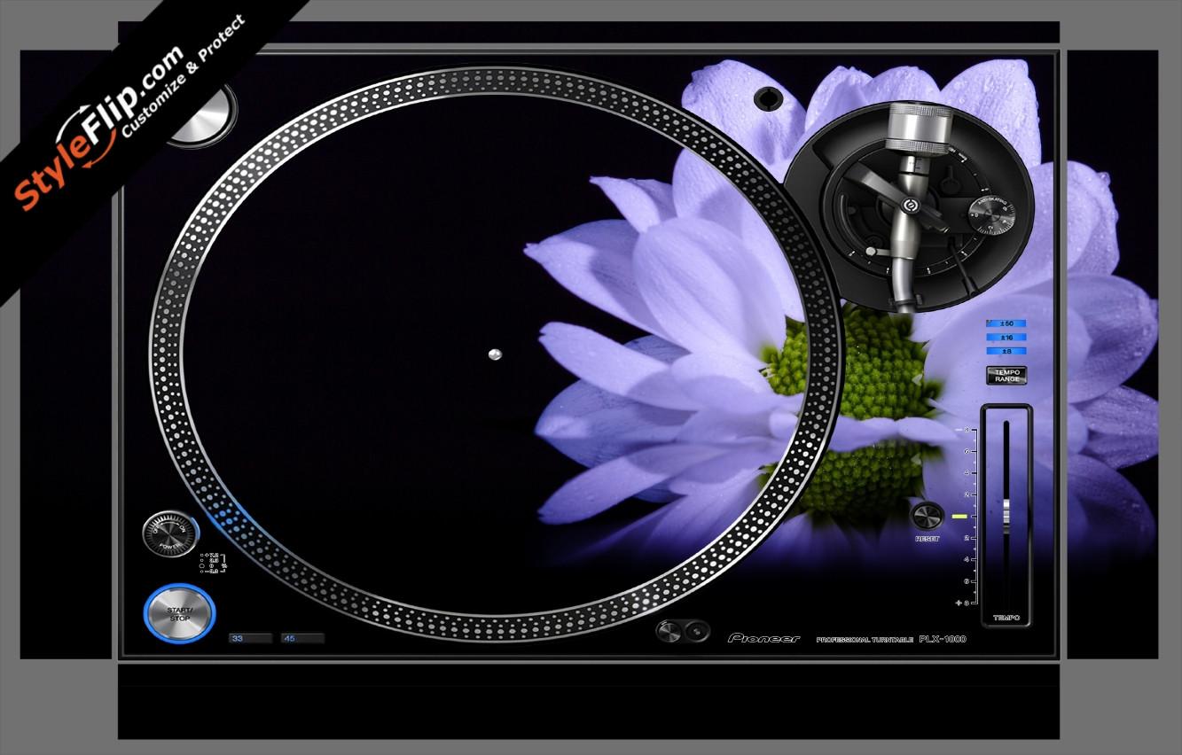 Purple Blossom  Pioneer PLX-1000