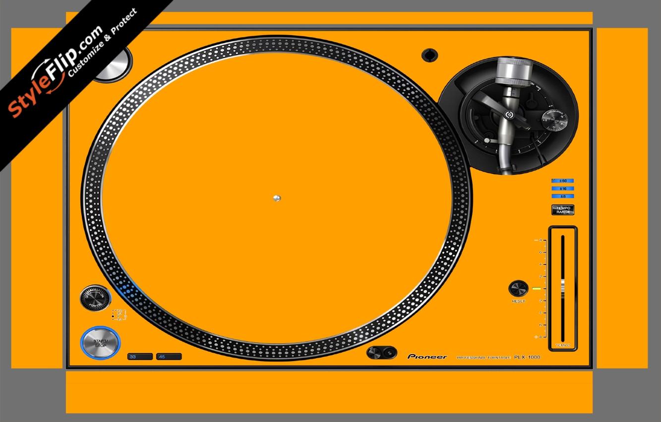 Solid Orange Pioneer PLX-1000