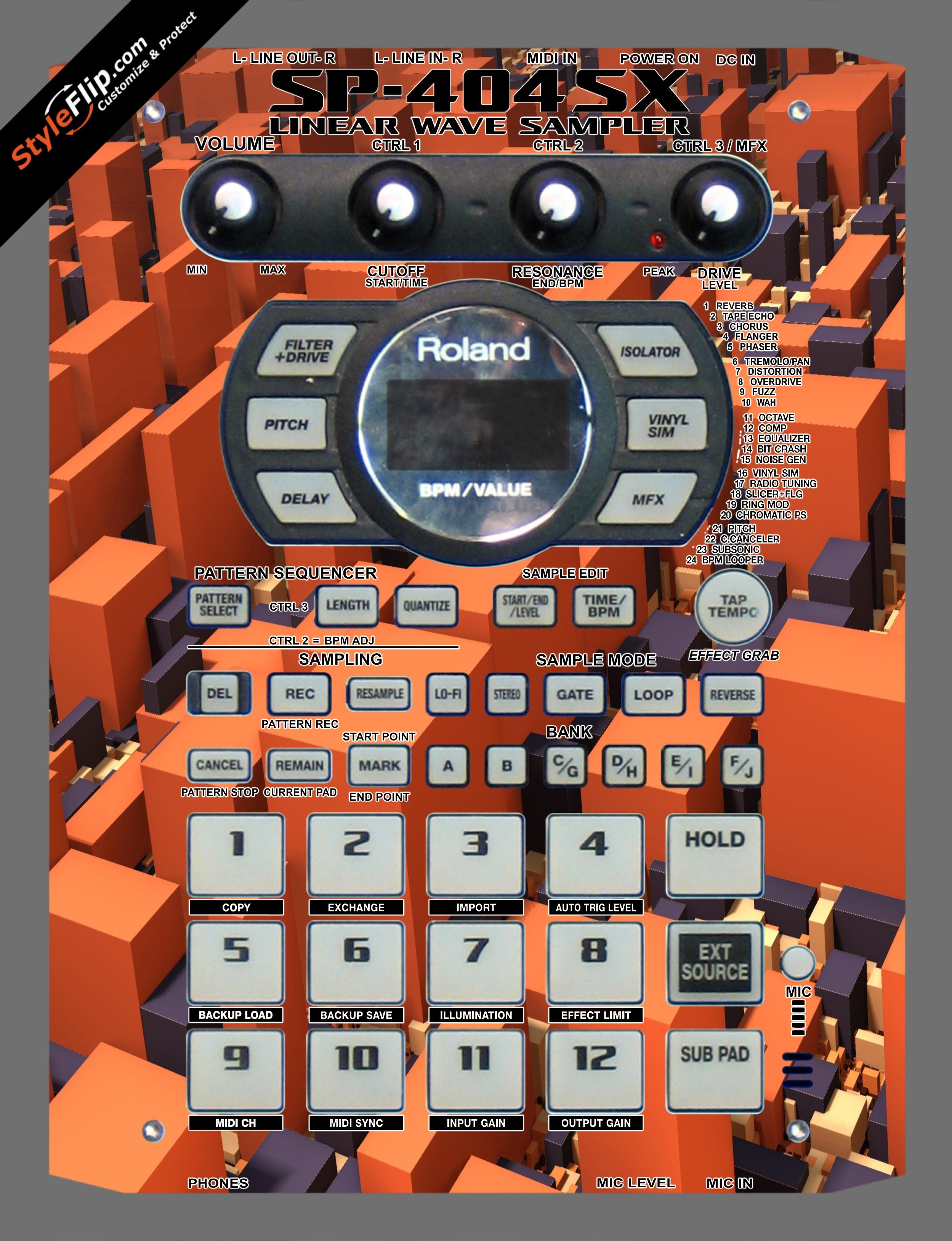 Blocked  Roland SP-404 SX