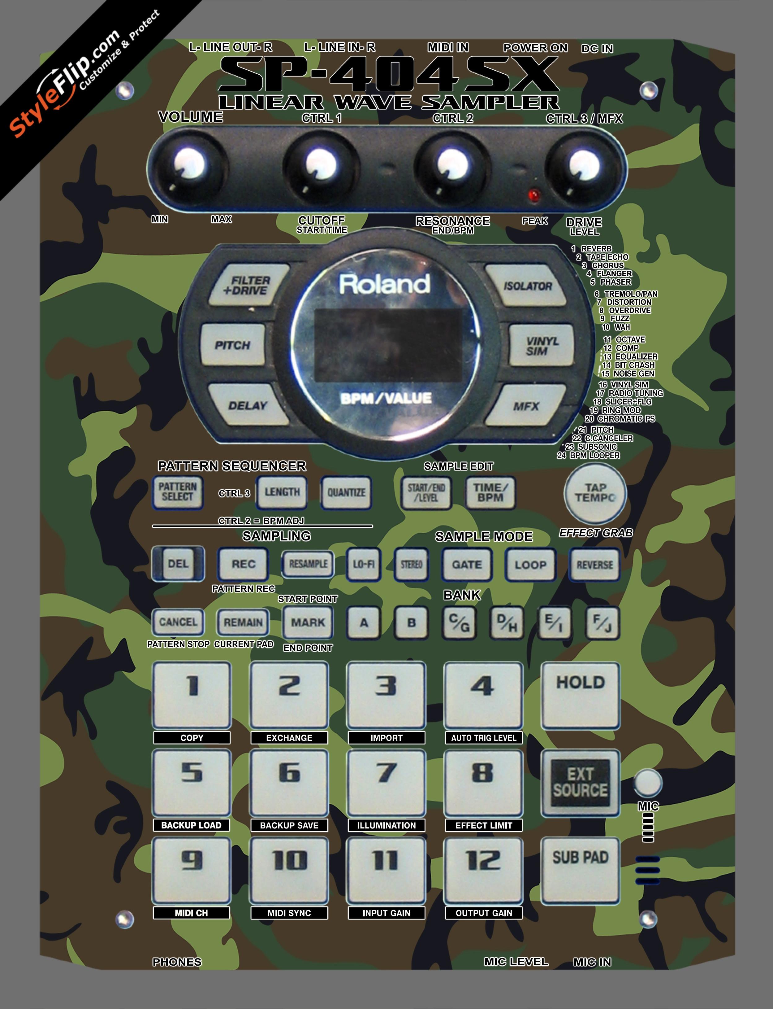 Commando  Roland SP-404 SX