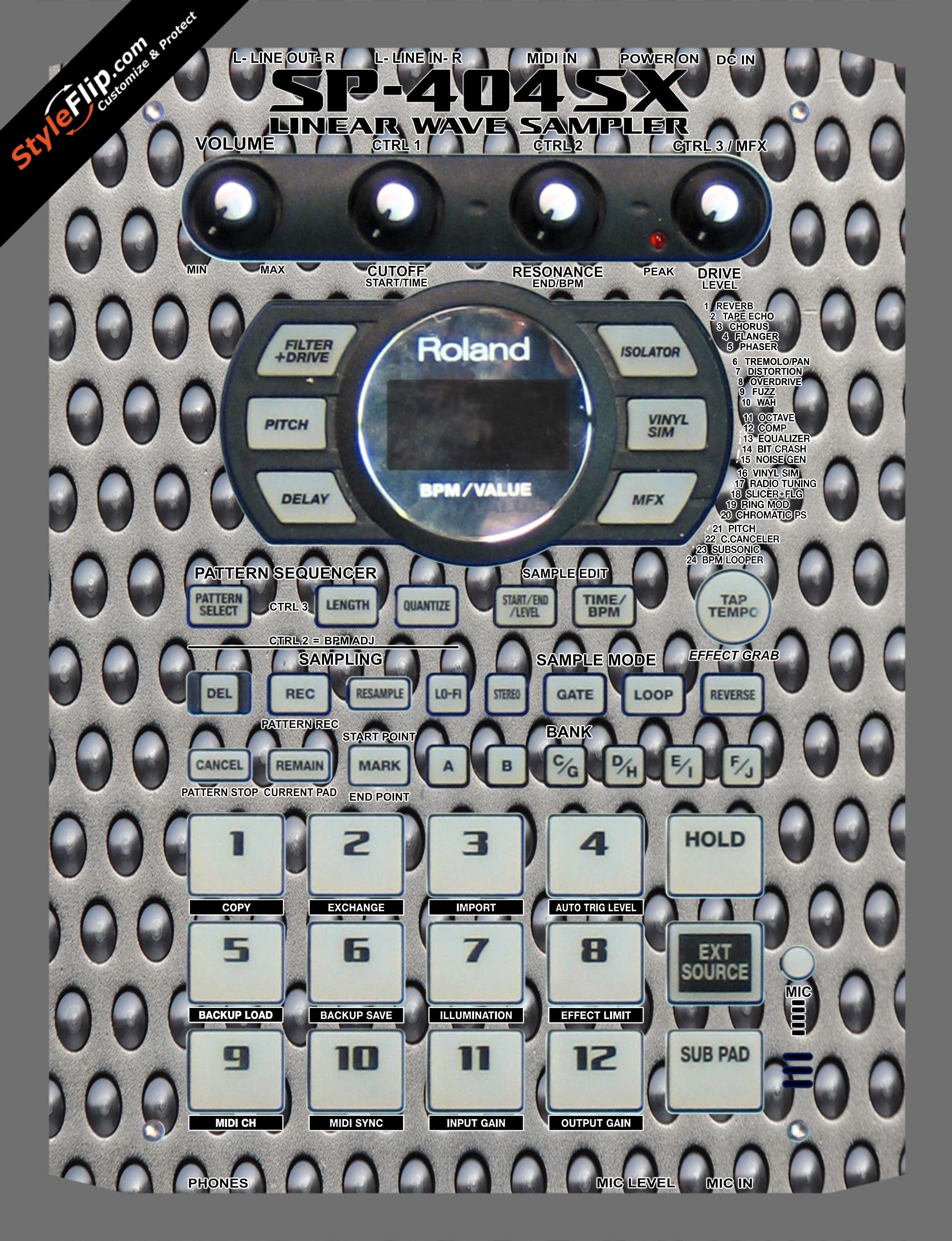 Enforcer  Roland SP-404 SX