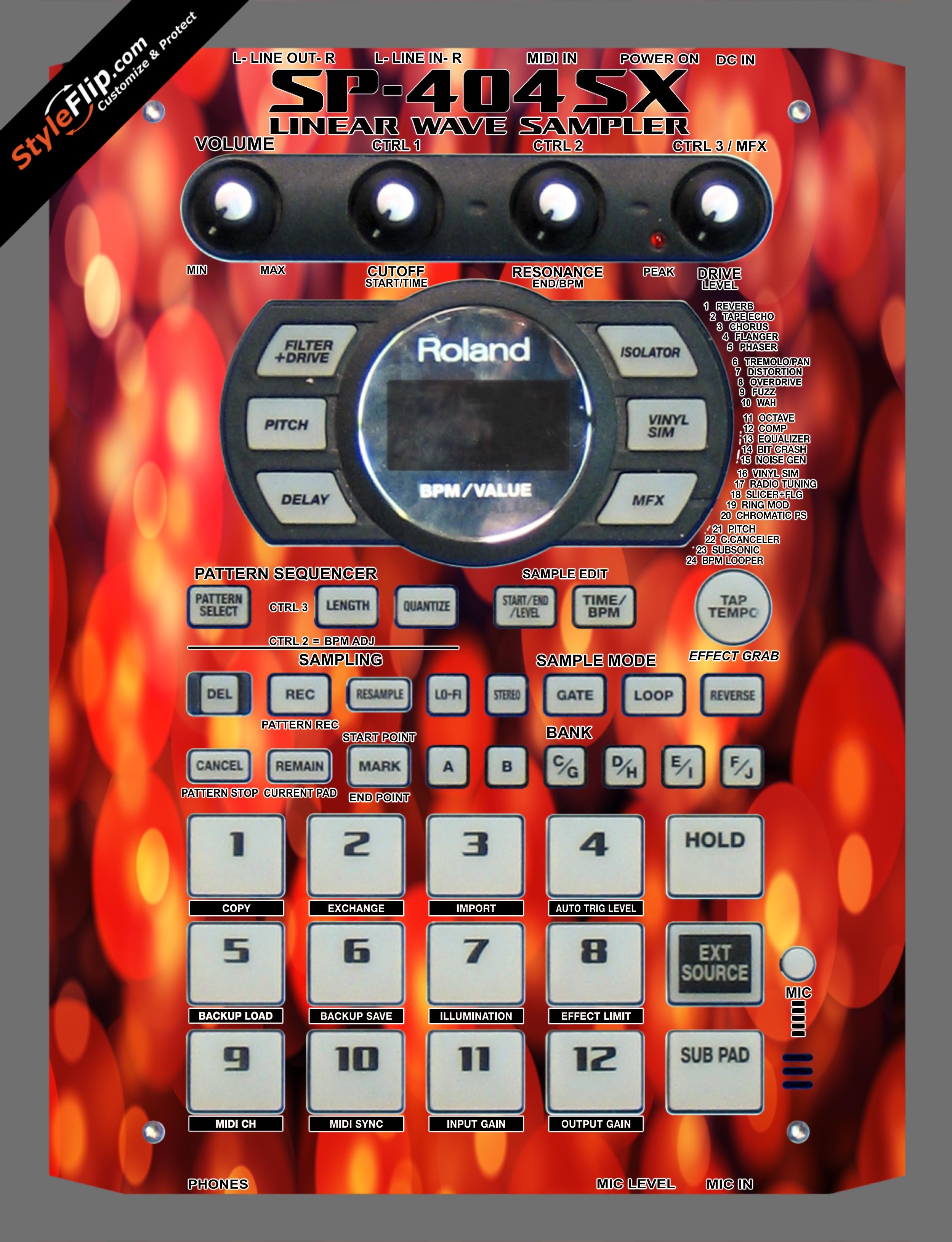 Firefly Roland SP-404 SX
