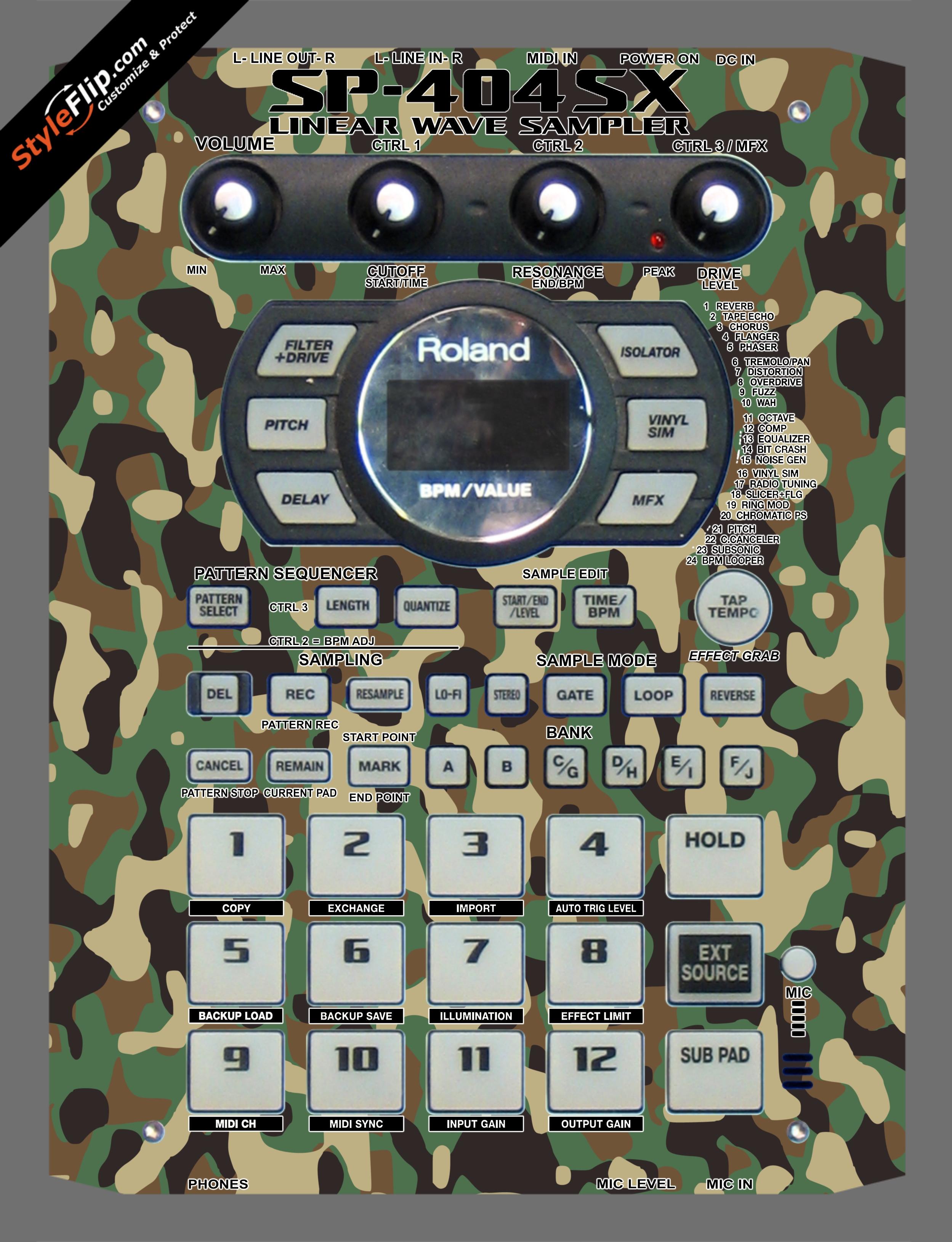 Frontline Roland SP-404 SX
