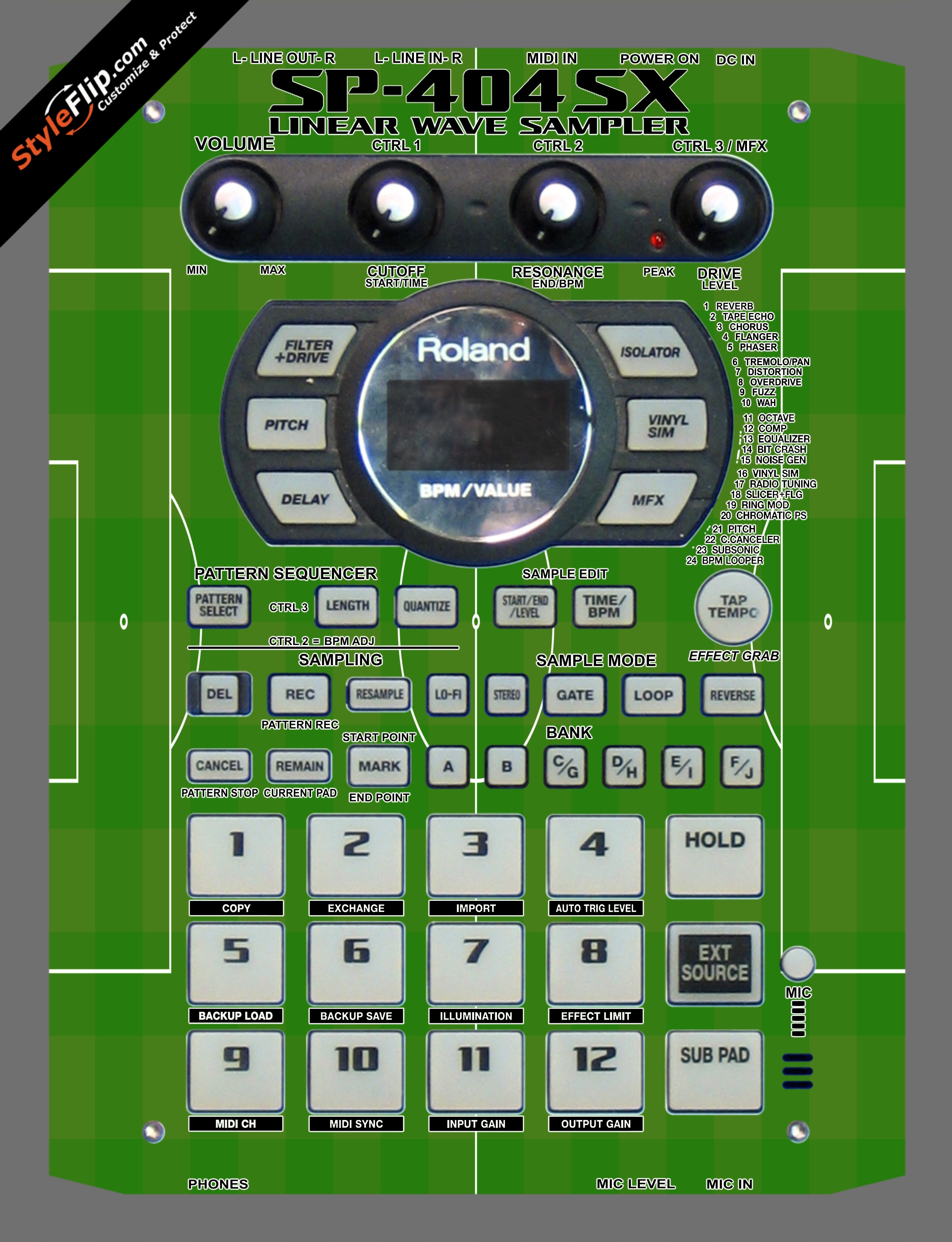Goal!  Roland SP-404 SX