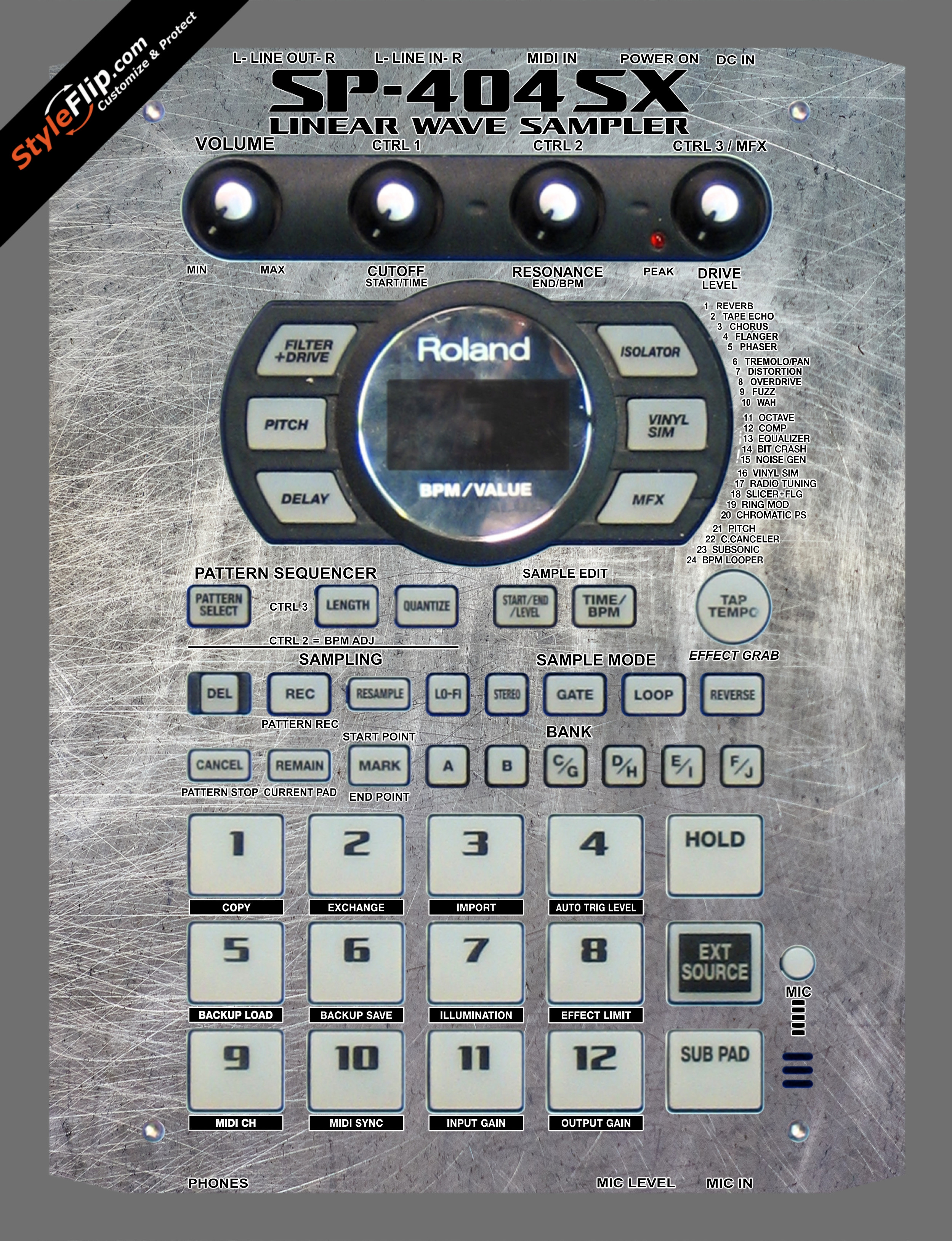 Hardware  Roland SP-404 SX