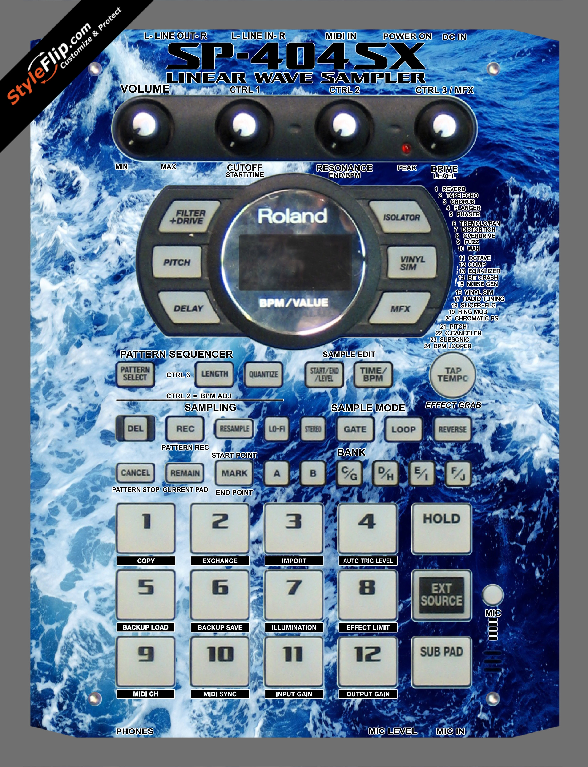 High Tide  Roland SP-404 SX