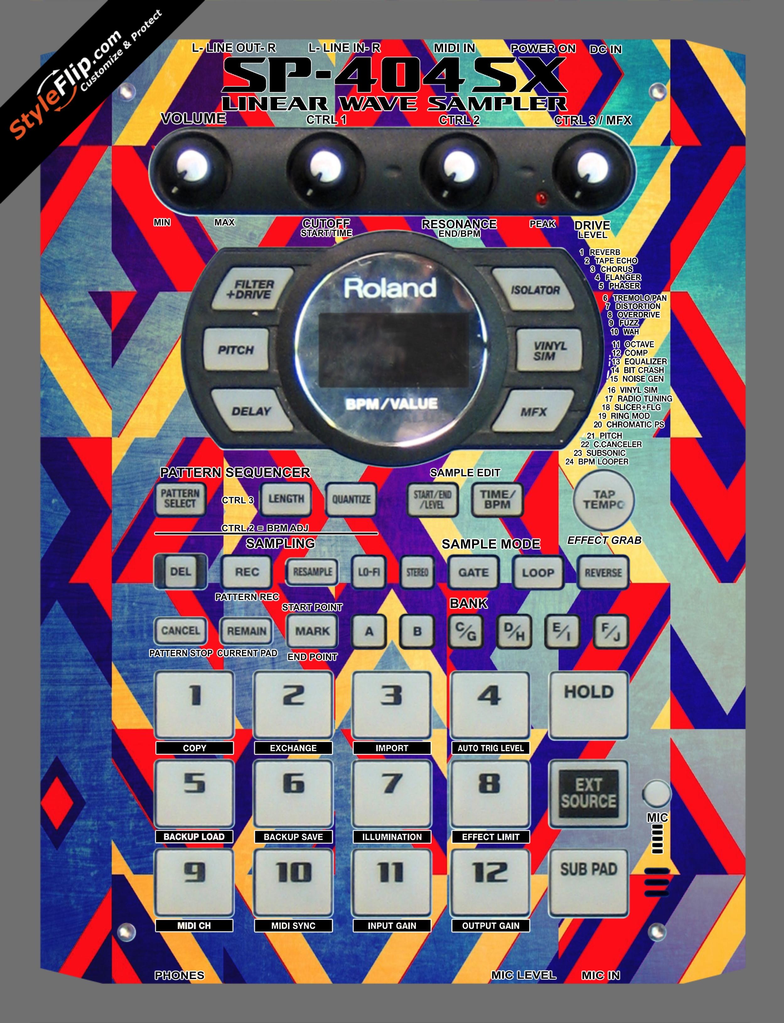 Jigsaw Roland SP-404 SX