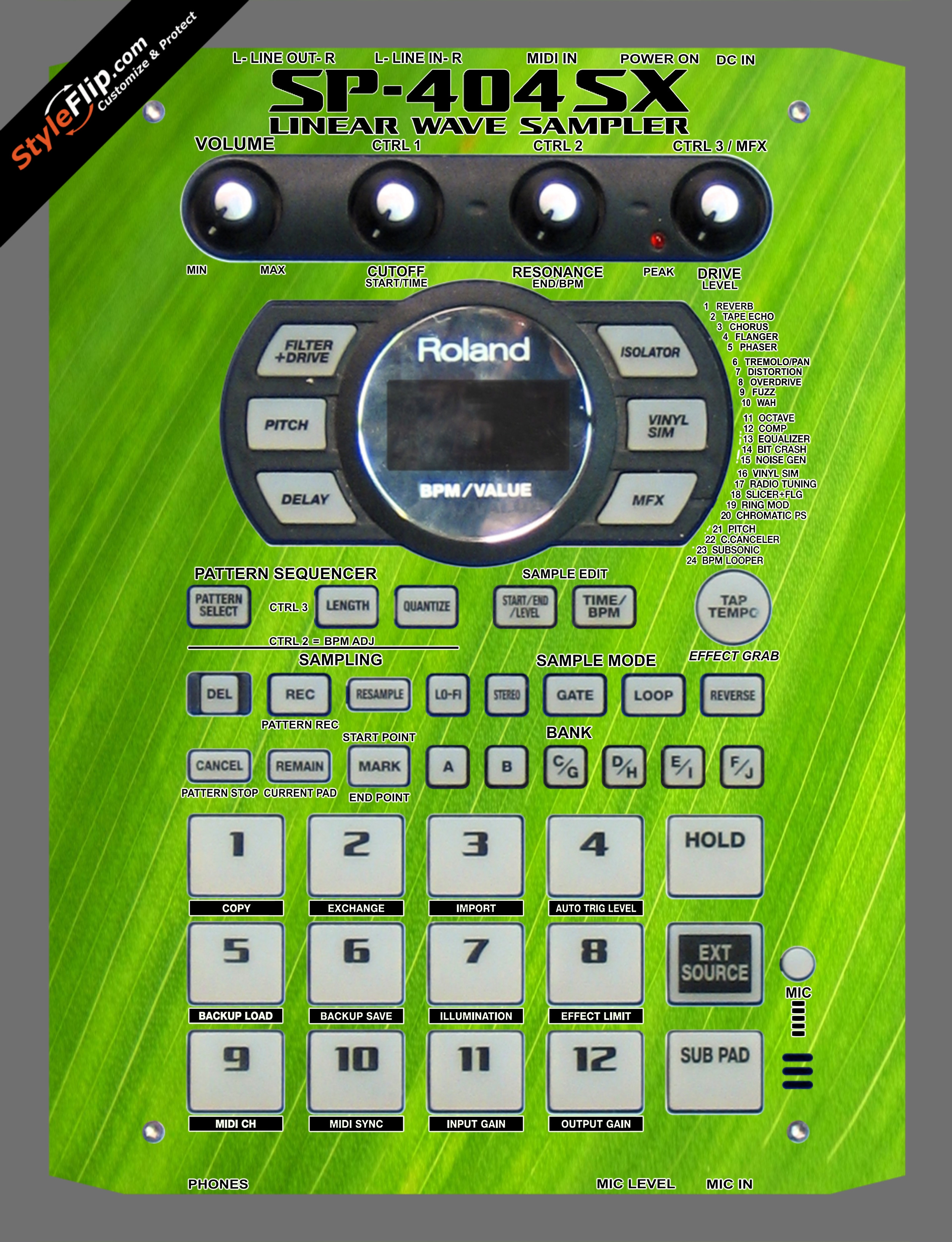 Leafy Roland SP-404 SX
