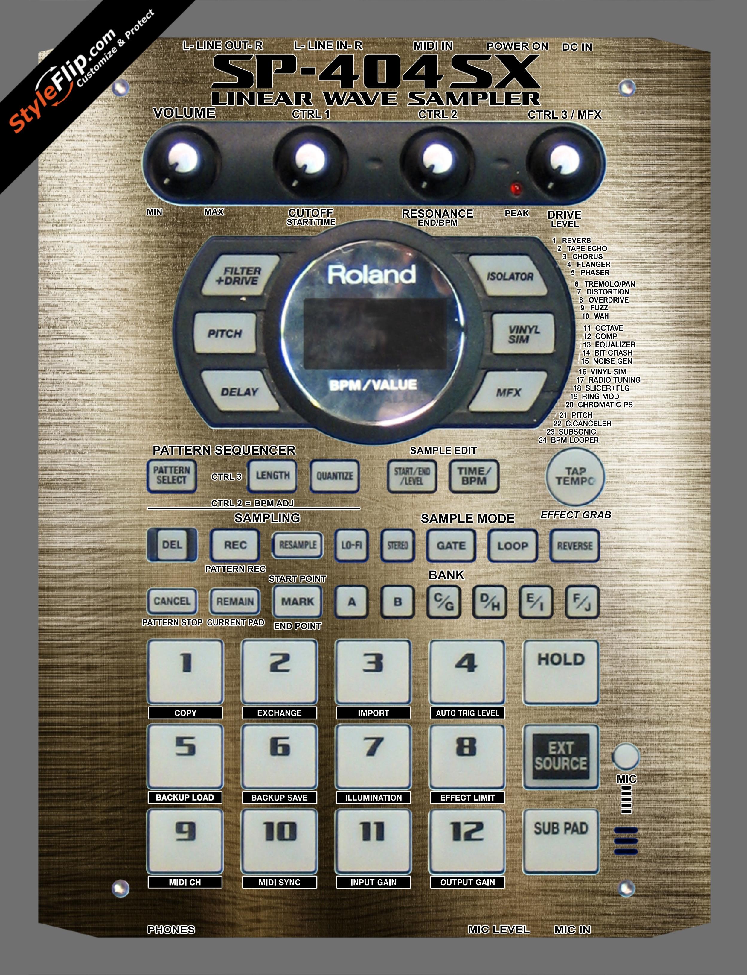 Monopoly  Roland SP-404 SX