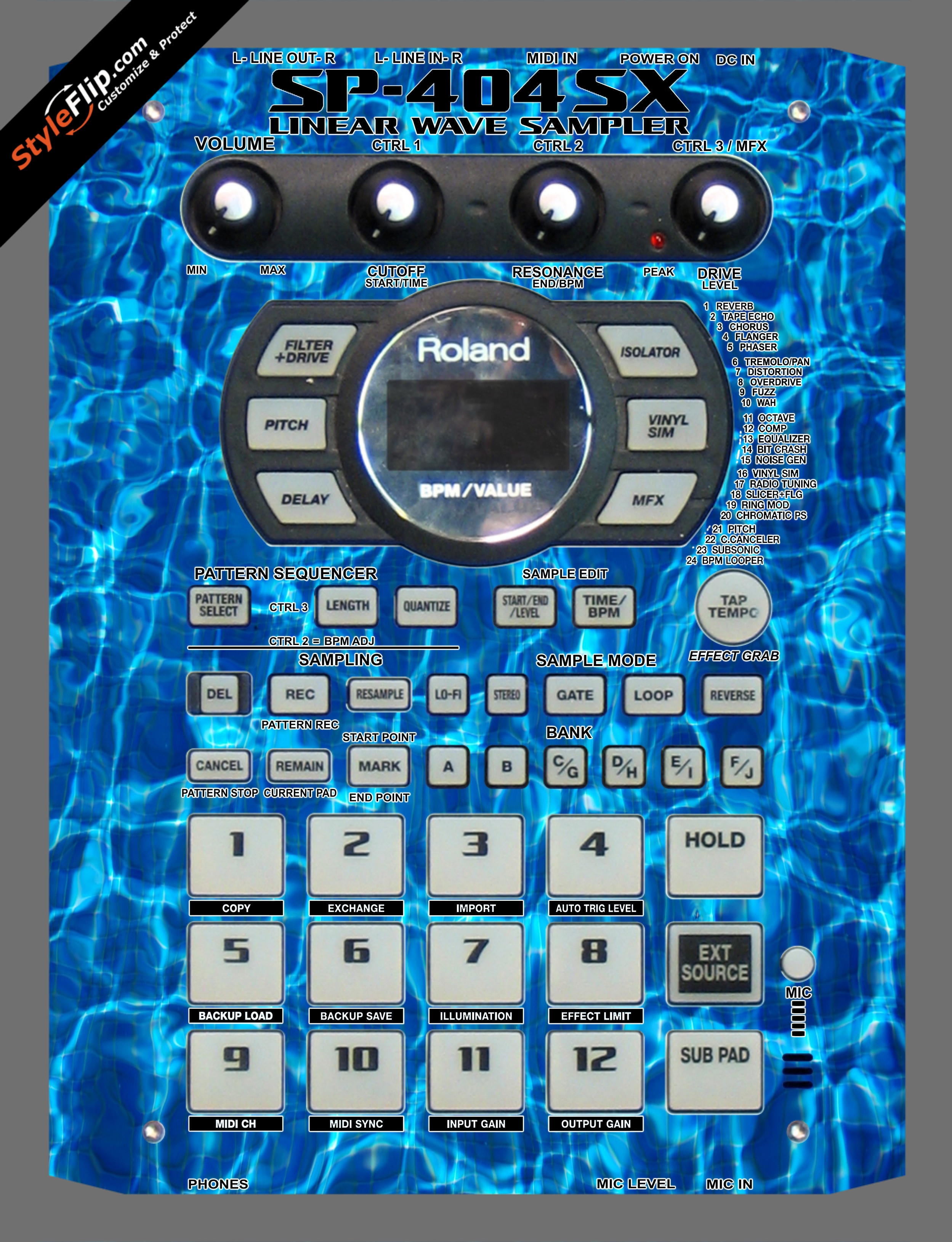 Pools Roland SP-404 SX
