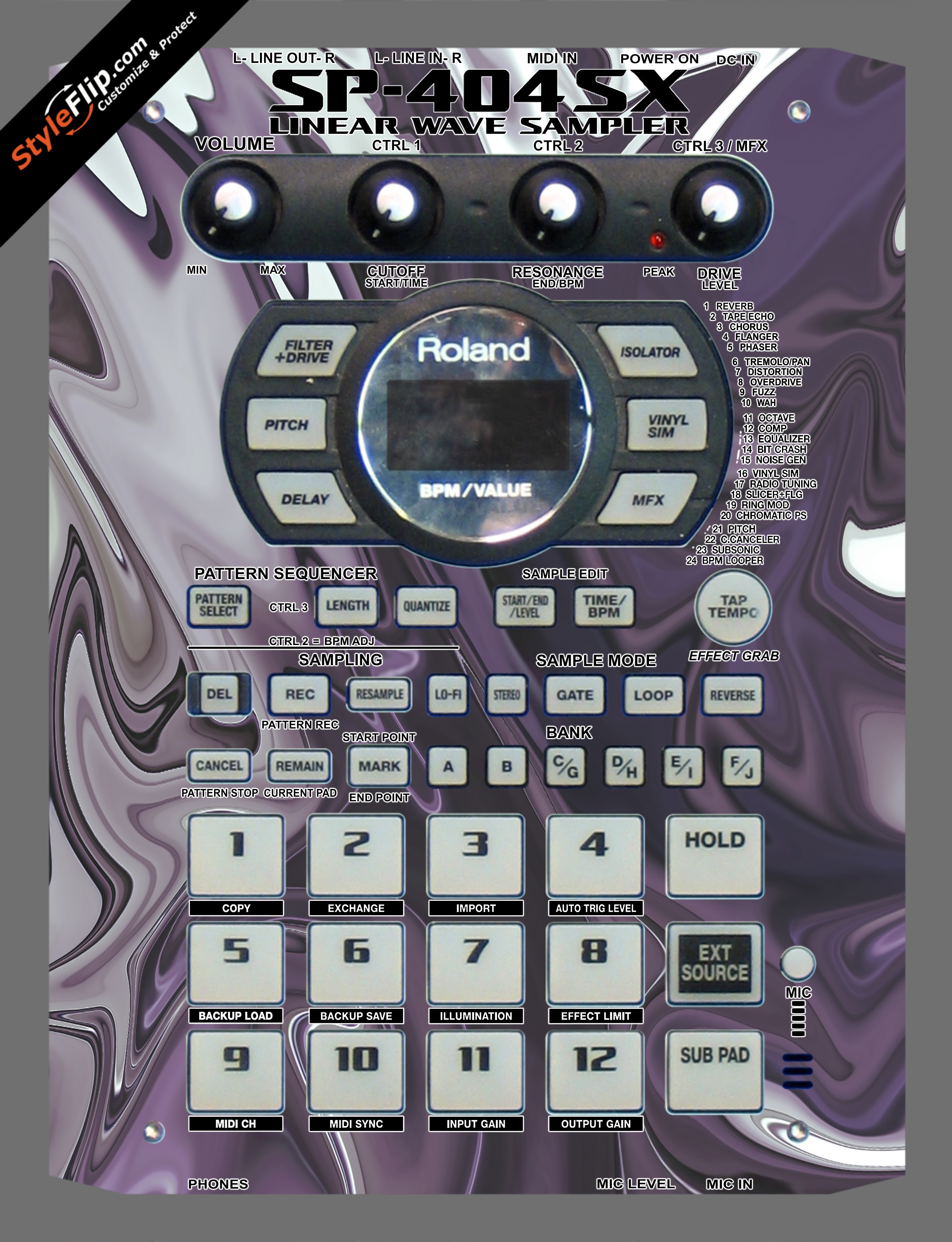 Purple Haze Roland SP-404 SX
