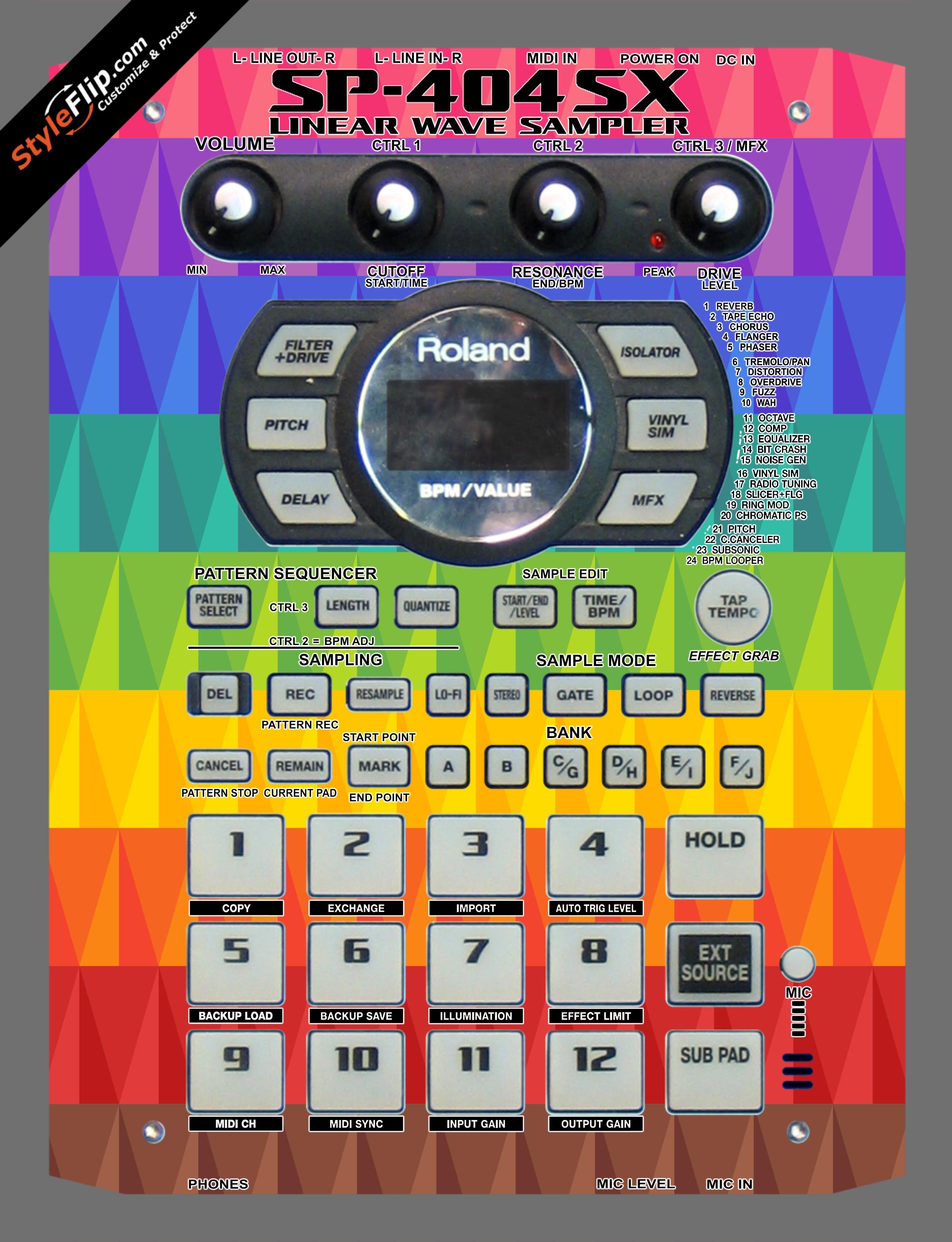Pyramix Roland SP-404 SX