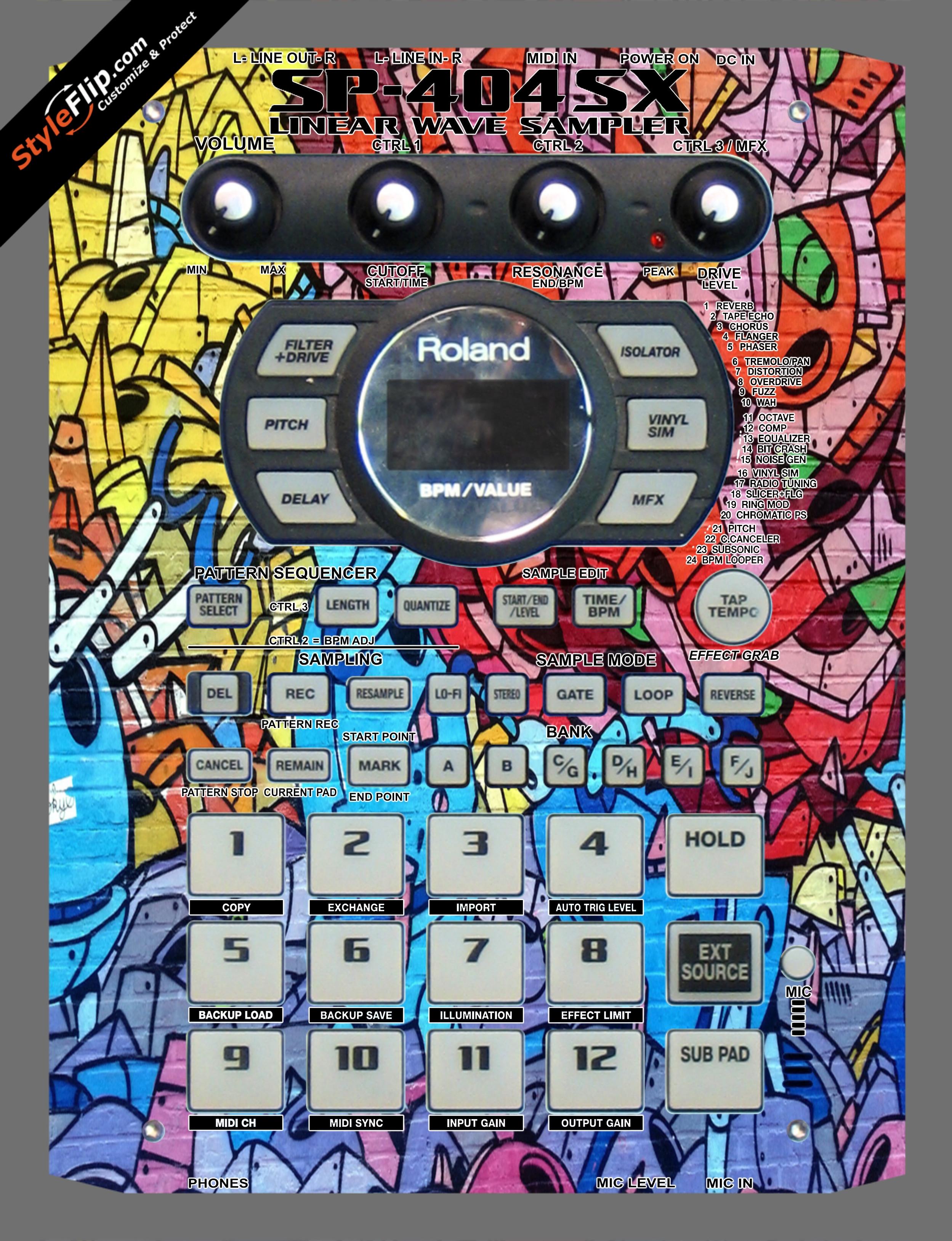 Robo Roland SP-404 SX