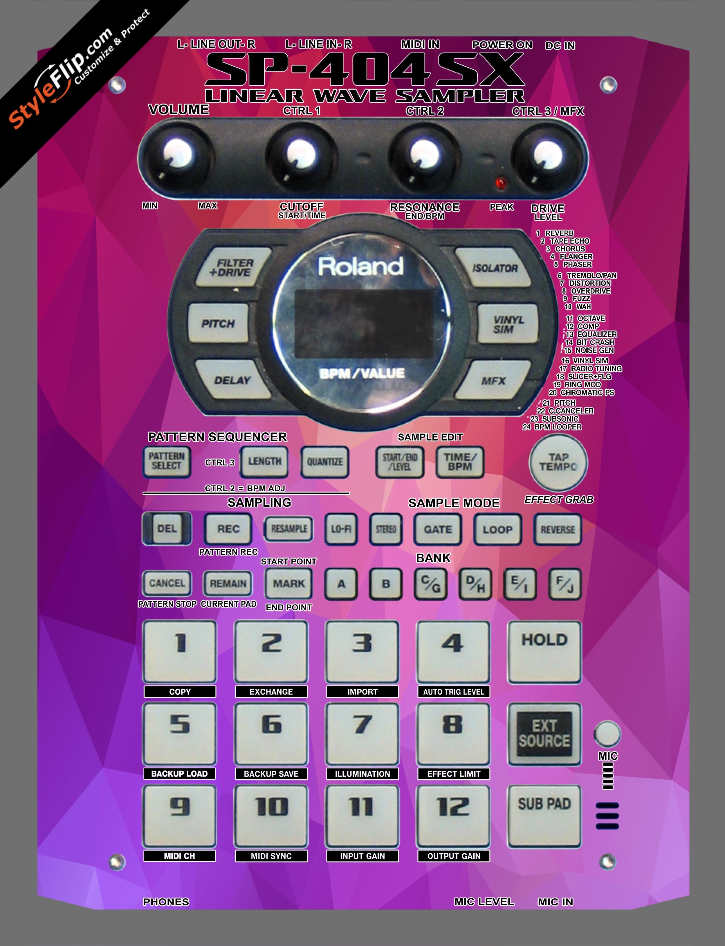 Sundae  Roland SP-404 SX