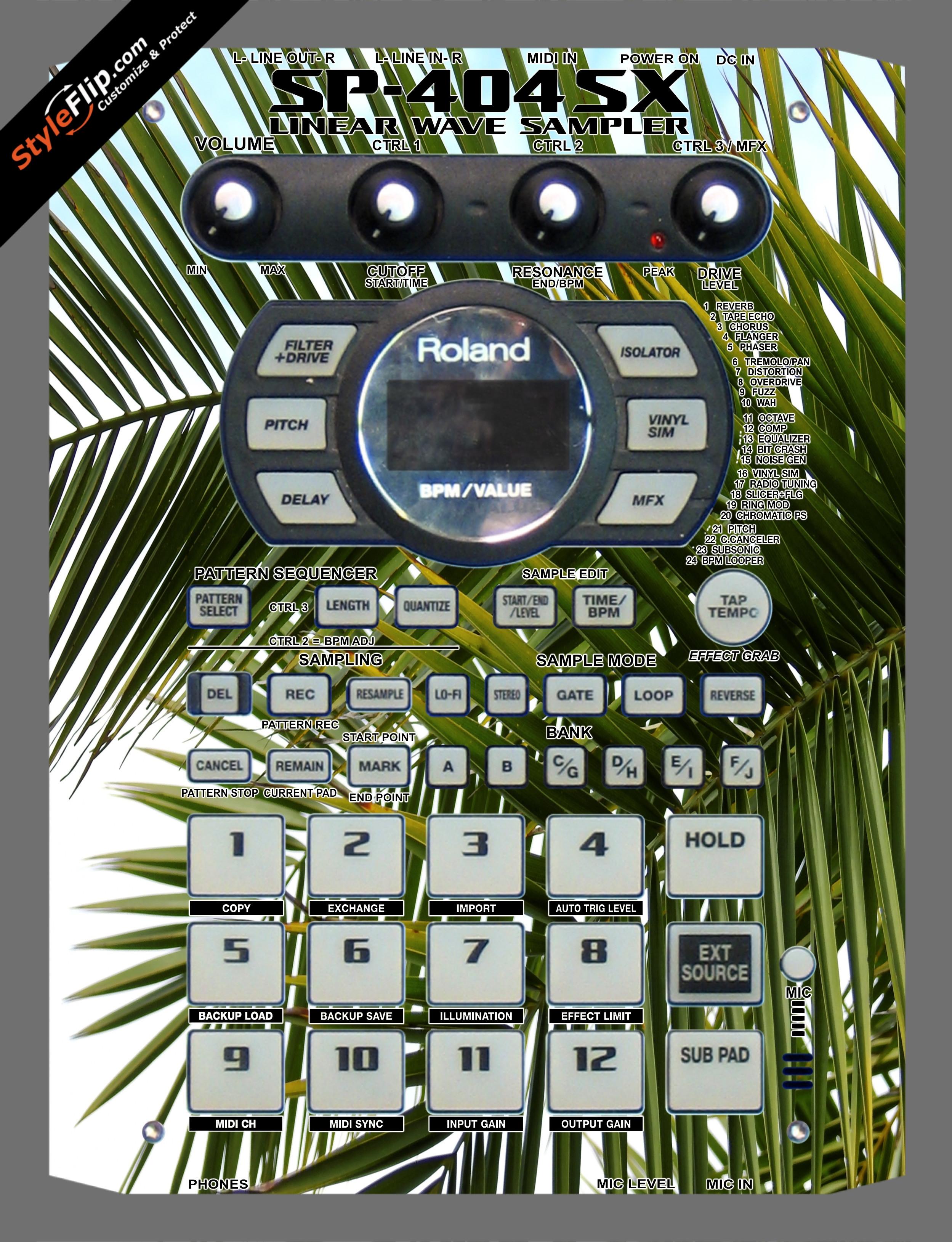 Tropicana Roland SP-404 SX