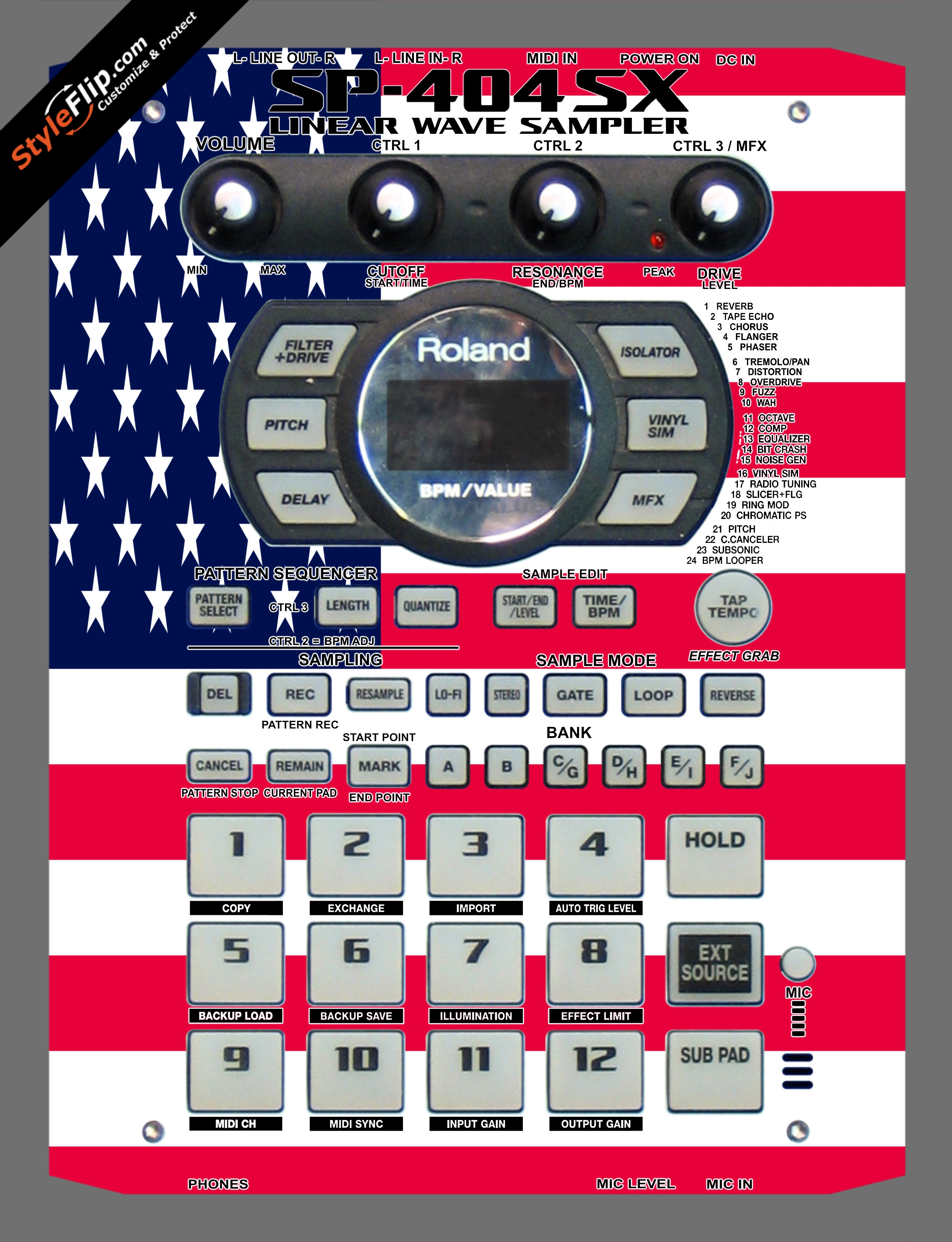 United States Of America Roland SP-404 SX
