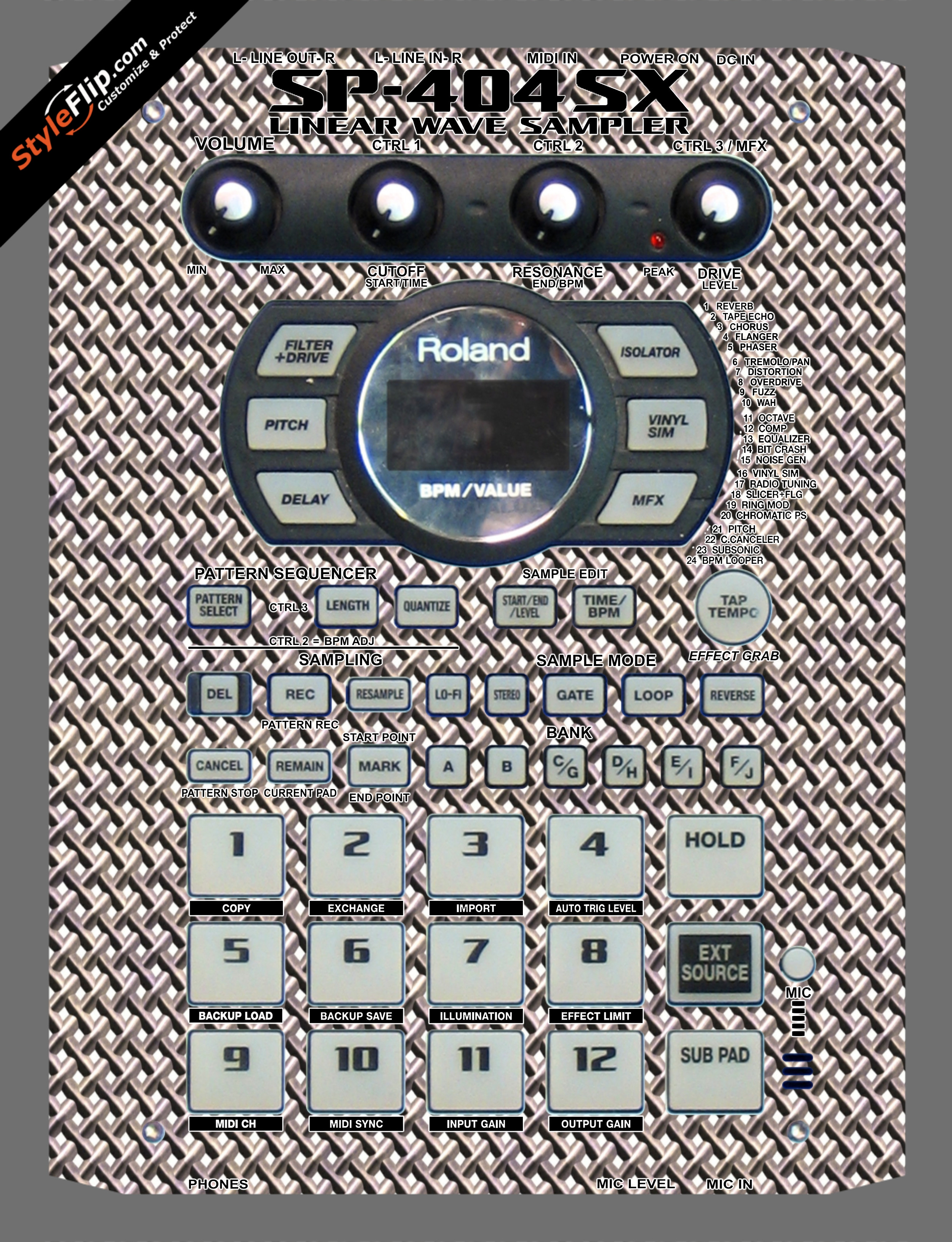 Wired  Roland SP-404 SX