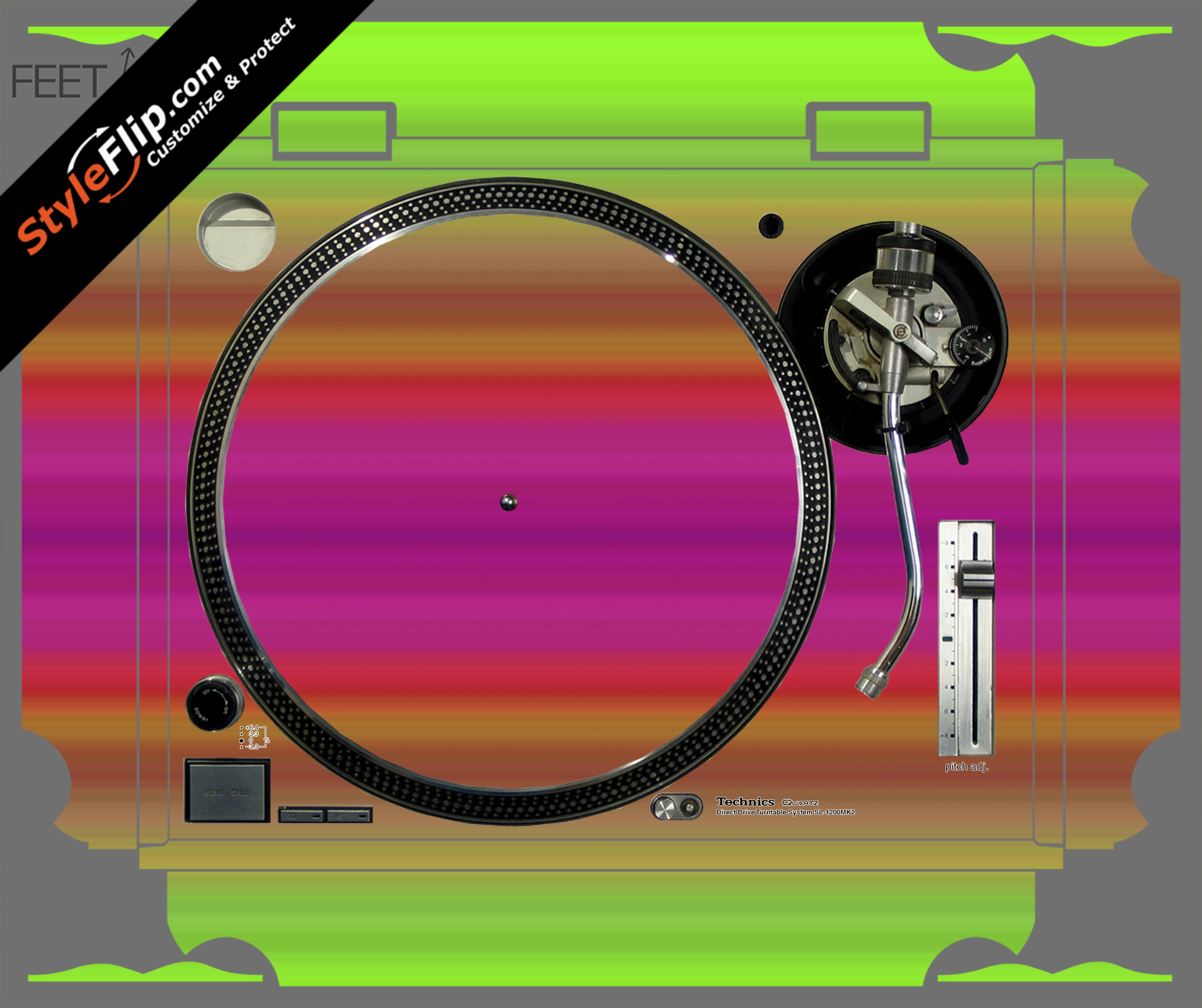 Rainbow Technics SL-1200 MK2
