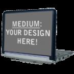 "General Generic Netbook Lid-9.4"" x 5.8"" Skins Custom Sticker Covers & Decals"