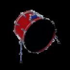 "General 20"" Kick Drum Skins Custom Sticker Covers & Decals"