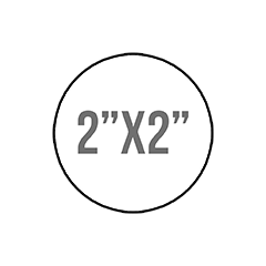 "Custom Stickers 2""X2"" Circle Stickers"