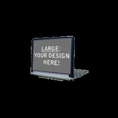 "Generic Netbook Lid-9.8"" x 6.7"""